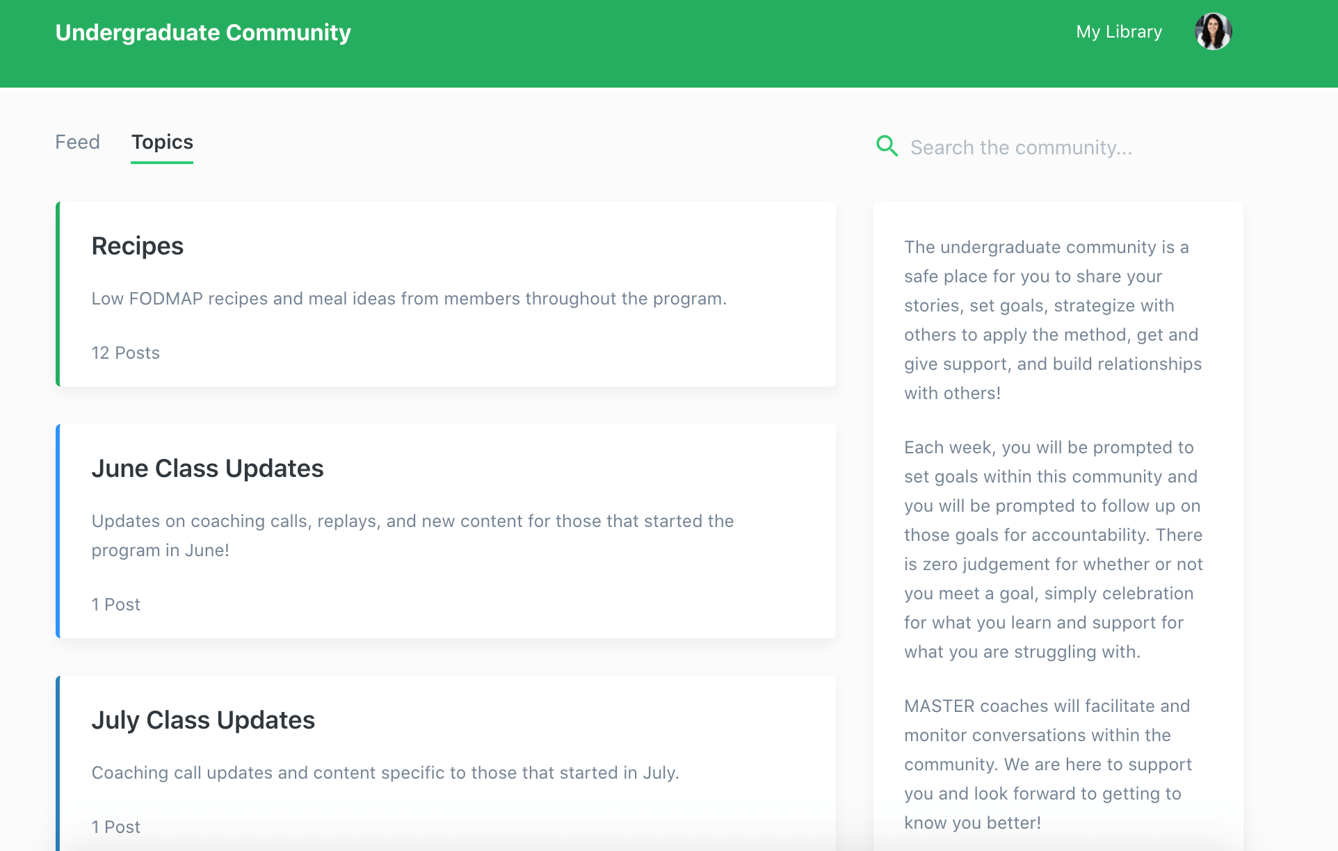 Kajabi community feature erin