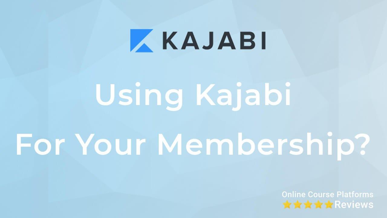 Kajabi for your membership thumb